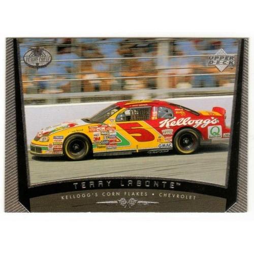 1999 Upper Deck Terry LaBonte Auto Racing Card No. 49 – VF