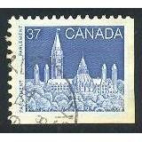 Canada 1187 Parliament 37c Booklet Perf. 12½ x 12 CV = 0.65$
