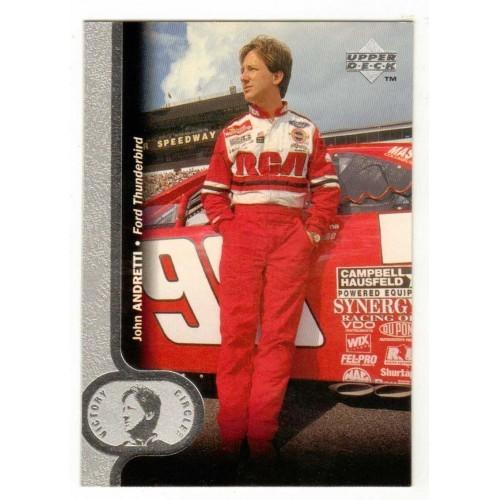 1996 Upper Deck Victory Circle John Andretti Auto Racing Card No. 37 - LN