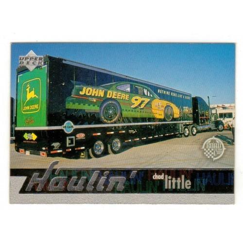 1997 Upper Deck Chad Little Haulin Auto Racing Card No. 120 – VF