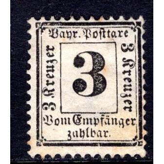 Bavaria (1870) J3 MH