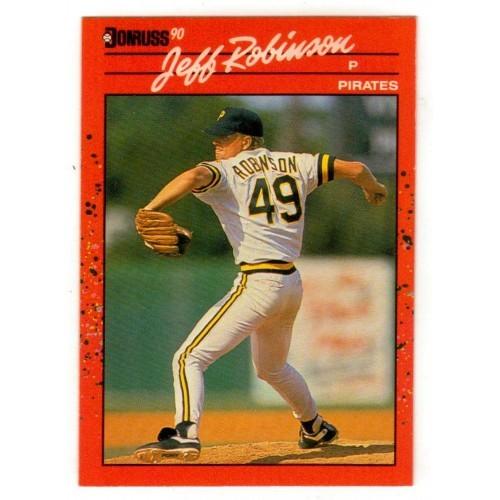 1990 Donruss Jeff Robinson Trading Card No. 134 – VF+