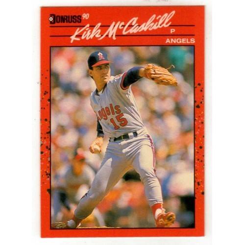 1990 Donruss  Kirk McCaskill Trading Card No. 170 - LN