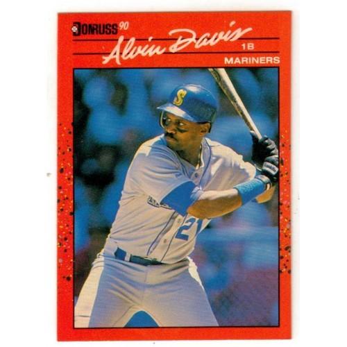 1990 Donruss  Alvin Davis Trading Card No. 109 - VF