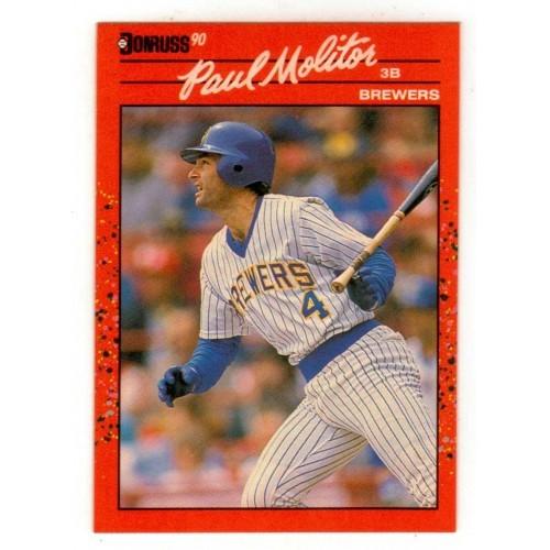 1990 Donruss  Paul Molitor Trading Card No. 103 - VF