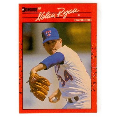 1990 Donruss  Nolan Ryan Trading Card No. 166 - VF