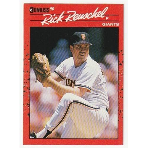 1990 Donruss Rick Reuschel  Trading Card No. 112 – NM