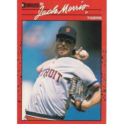 1990 Donruss Jack Morris Trading Card No. 639 – NM