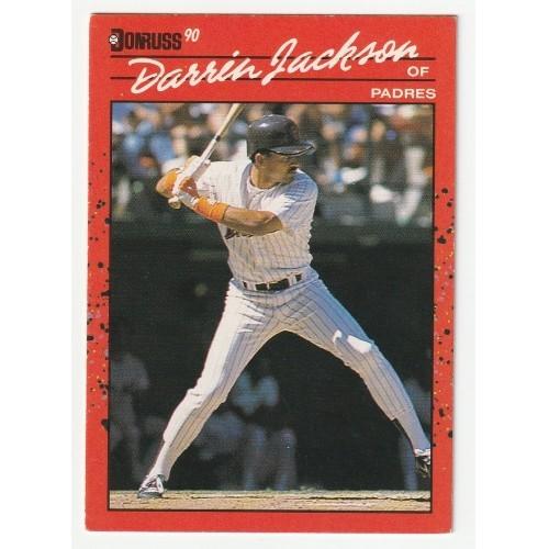 1990 Donruss Darrin Jackson Trading Card No. 641 – VF+