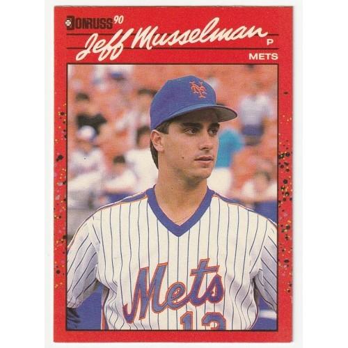 1990 Donruss Jeff Musselman Trading Card No. 623 – NM