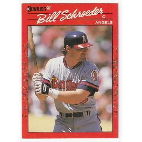 1990 Donruss Bill Schroeder Trading Card No. 567