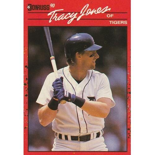 1990 Donruss Tracy Jones Trading Card No. 636 – FN