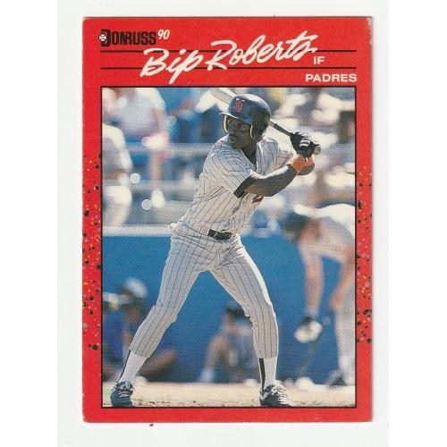1990 Donruss Bip Roberts Trading Card No. 347 – FN