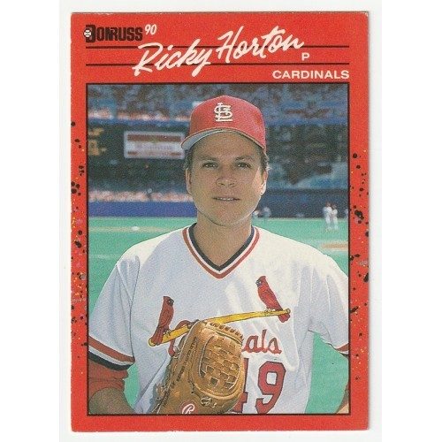 1990 Donruss Ricky Horton Trading Card No. 666 – VG+