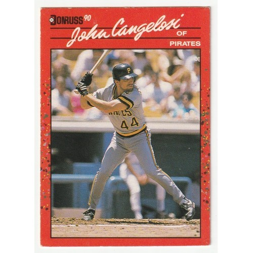 1990 Donruss John Cangelosi Trading Card No. 565 – VG+