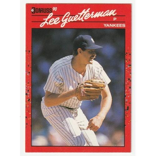 1990 Donruss Lee Guetterman Trading Card No. 127 – NM