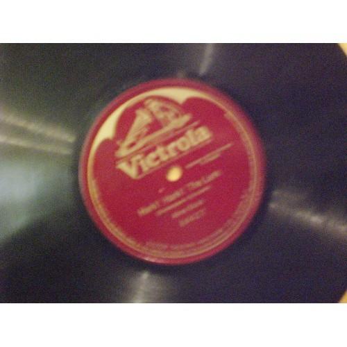 78 RPM: #750.. ALMA GLUCK - HARK! HARK! THE LARK / VICTROLA 64627 / VG+ .. ONE S