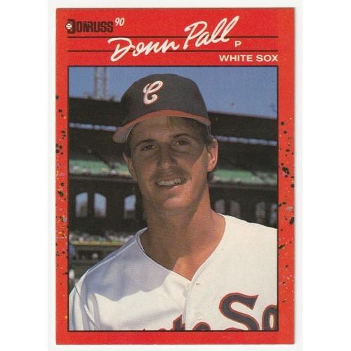 1990 Donruss Donn Pall White Sox Rookie Trading Card No. 606 – NM