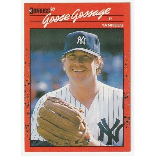 1990 Donruss Goose Gossage Trading Card No. 678 – NM