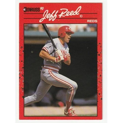 1990 Donruss Jeff Reed Trading Card No. 351 – VF+