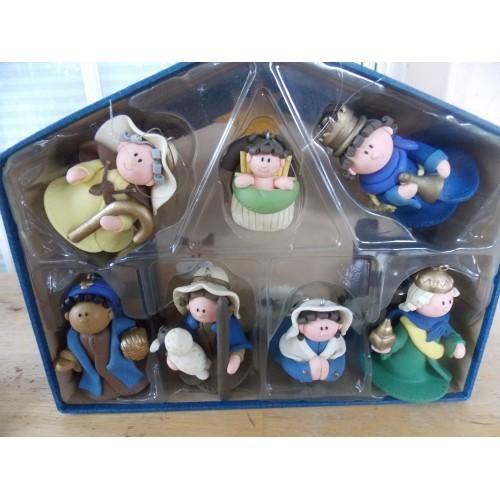 7 pc. Nativity Dough Set