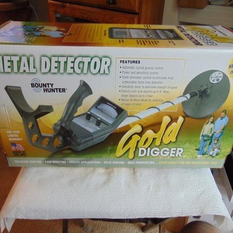Gold Digger Metal Treasure Detector