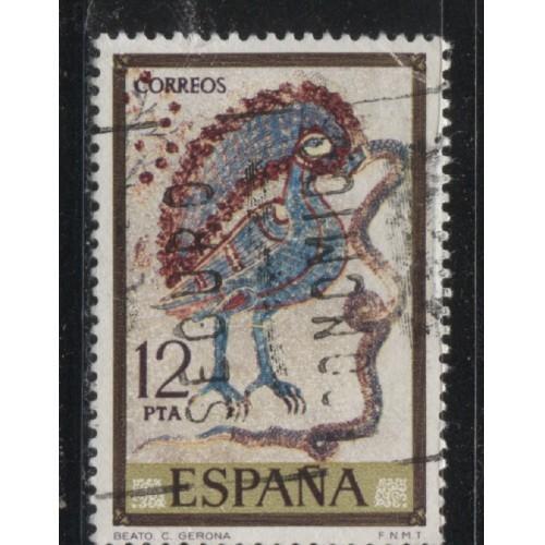 1975 SPAIN  12 Pts. Scenes from Apocalypse  used, Scott # 1916