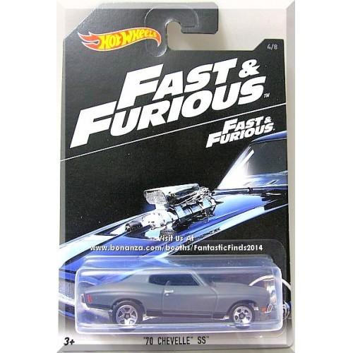 Hot Wheels - '70 Chevelle SS: Fast & Furious Series #4/8 (2016) *Fast & Furious*
