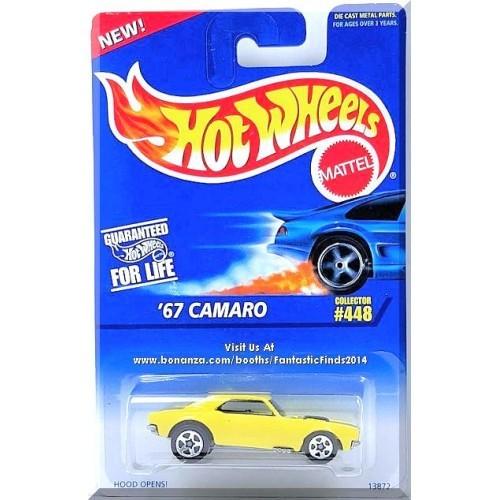 Hot Wheels - '67 Camaro: Collector #448 (1996) *Yellow Edition*