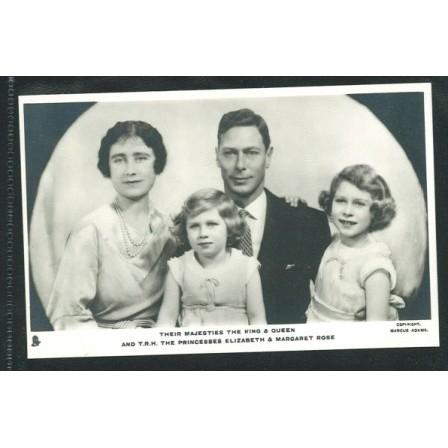 ENGLAND - King George VI, Elisabeth & their daughters