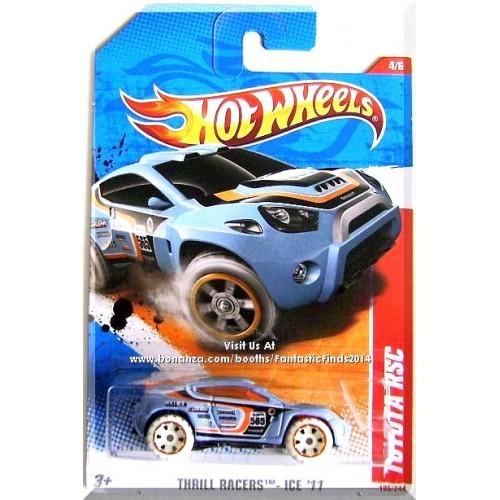 Hot Wheels - Toyota RSC: Thrill Racer-Ice '11 #4/6 - #195/244 *Blue Edition*