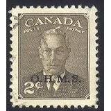 Canada O13 George VI OHMS Overprint CV = 0.75$