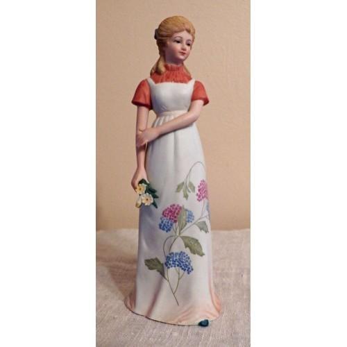 Lefton Figurine Collectible Lefton China Hand Painted Girl Figurine KW06029