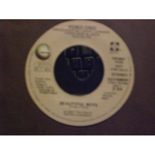 45 RPM: #7378.. JOHN LENNON - WOMAN & YOKO ONO - BEAUTIFUL BOYS / VG+ /