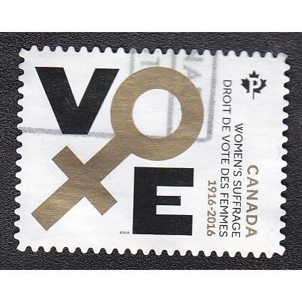Canada 2901 Women's Suffrage 1916-2016