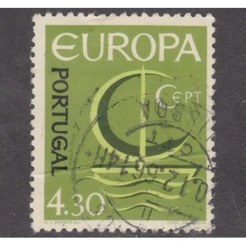 USED PORTUGAL #982 (1966)