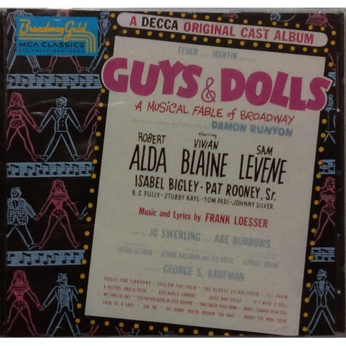Guys & Dolls a Musical Fable of Broadway CD