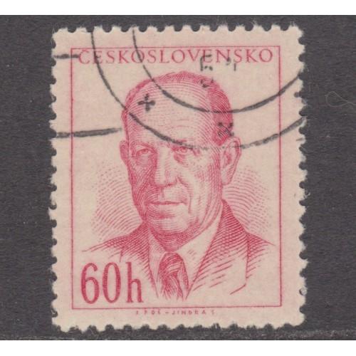 USED (CTO) CZECHOSLOVAKIA #618 (1953)