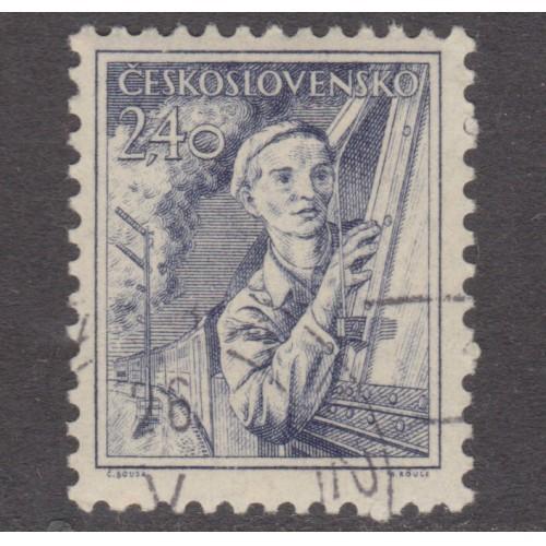 USED (CTO) CZECHOSLOVAKIA #656 (1954)