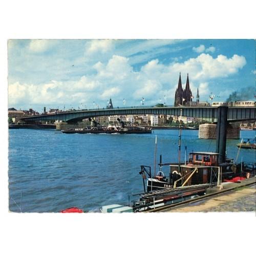 GERMANY - Köln - Cologne - church - boat #D002