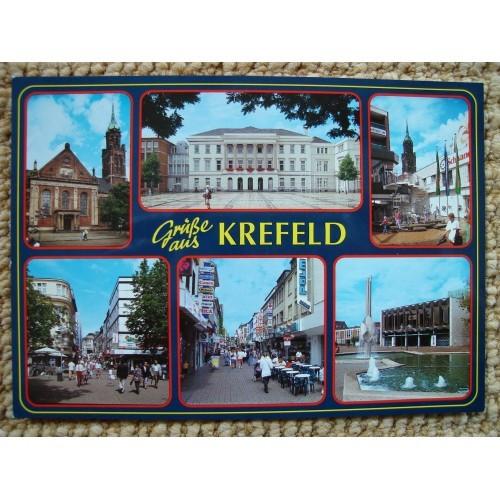 GERMANY - Krefeld - church - City Hall #D010