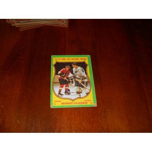 1973 Topps Hockey Bobby Clarke Philadelphia Flyers VG