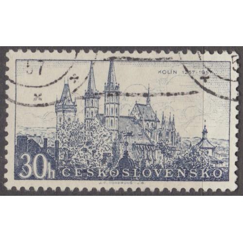USED CZECHOSLOVAKIA #785 (1957)