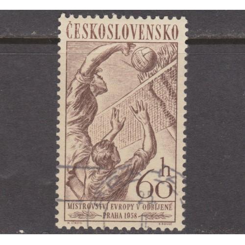 USED (CTO) CZECHOSLOVAKIA #841 (1958)