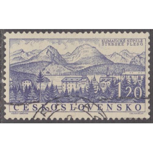 USED (CTO) CZECHOSLOVAKIA #866 (1958)
