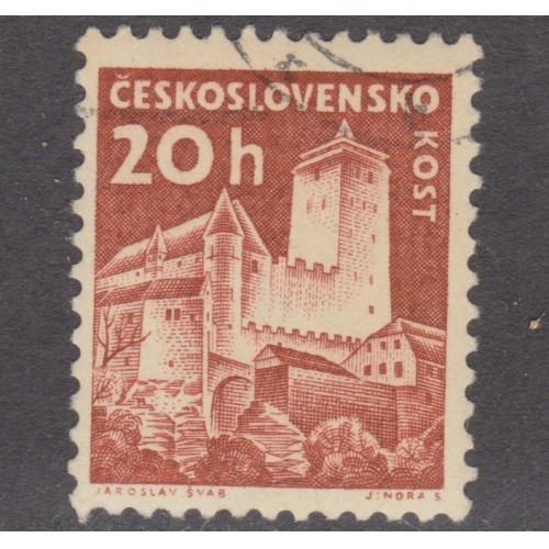 USED (CTO) CZECHOSLOVAKIA #972 (1960)