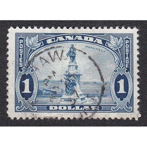 Canada 227 Champlain Statue CV = 11$