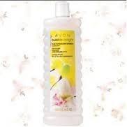 Avon Bubble Delight- Lily and Honeysuckle Blossom Bubble Bath