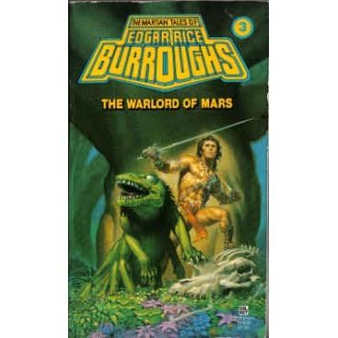BURROUGHS Edgar Rice WARLORD OF MARS Lo Grade