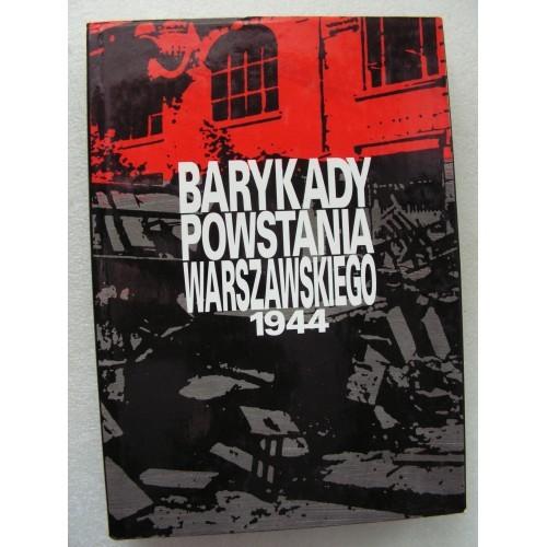 Barykady powstania warszawskiego 1944. Sreniawa-Szypiowski